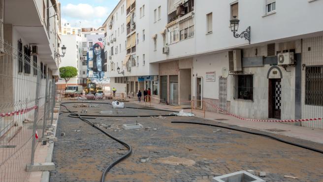 Entran en su recta final las obras de remodelación de las 11 nuevas calles del proyecto 'Estepona, Jardín de la Costa del Sol'