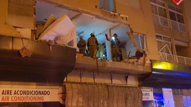 Explosión en Torrevieja
