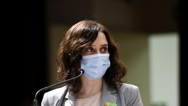 Isabel Díaz Ayuso. Archivo.