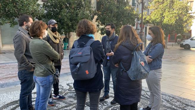 Presentación de una moción del PSOE a Pleno en defensa de los hosteleros