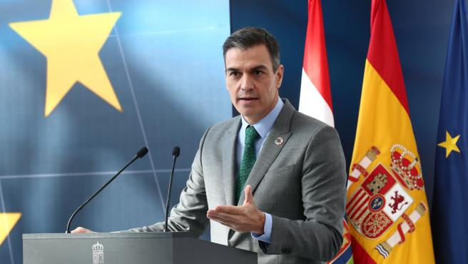 The President of the Government, Pedro Sánchez, intervenes in the presentation of the Recovery, Transformation and Resilience Plan of the Spanish Economy, in Agoncillo, La Rioja, (Spain), on November 20, 2020.