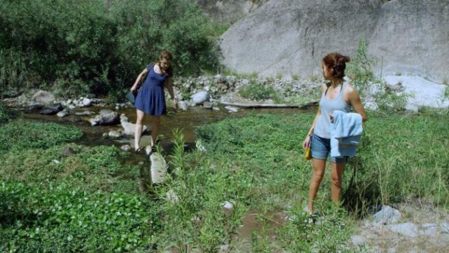 María Villar y Agustina Muñoz en 'Isabella'