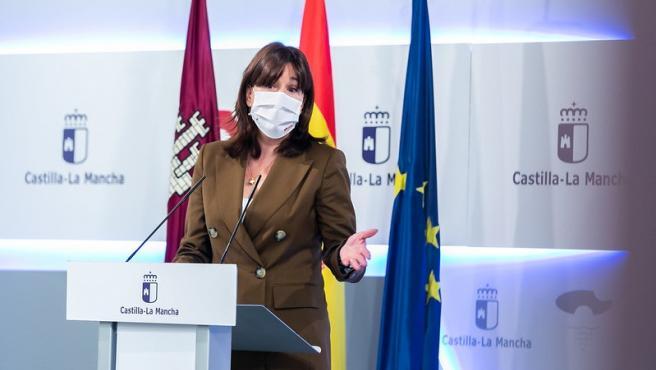 La portavoz regional, Blancha Fernández.