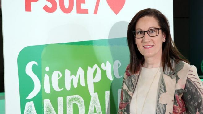 La secretaria de Igualdad del PSOE de Jaén, Francisca Molina.
