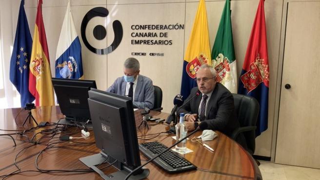 """La CCE alerta de la """"dramática"""" situación económica de Canarias y ve al Gobierno de España """"insensible"""" con las islas"""
