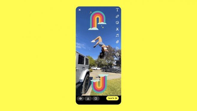 La nueva función Spotlight es un servicio de vídeo cortos al estilo TikTok.