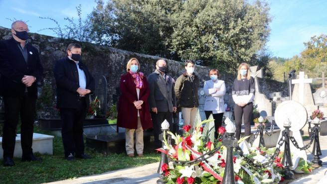 Acto conemorativo del PNV a Sabino Arana en el aniversario de su fallecimiento, en Sukarrieta (Bizkaia)
