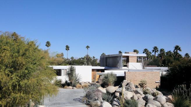 Casa Kaufmann en Palm Springs.