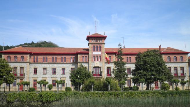 Cuartel de Loyola en San Sebastián, País Vasco.