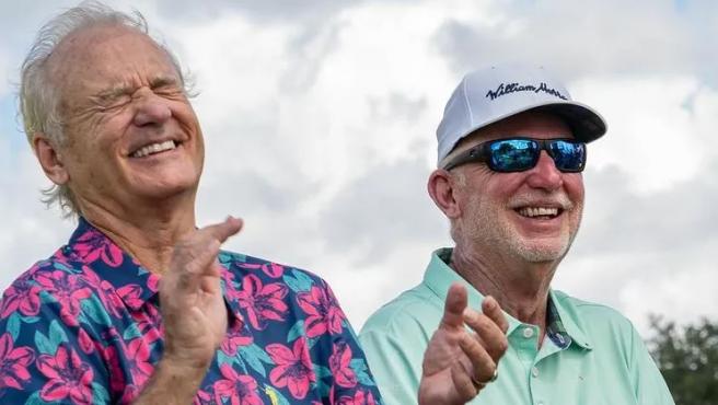 Bill Murray y su hermano Ed.
