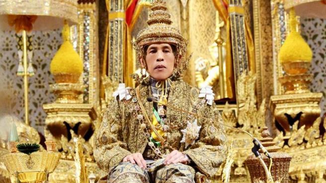 El rey de Tailandia, Maha Vajiralongkorn, más conocido como Rama X, en 2019.