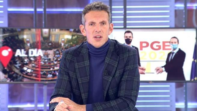 Joaquín Prat, en 'Cuatro al día'.