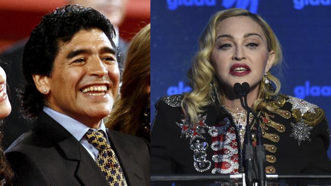 Maradona y Madonna.
