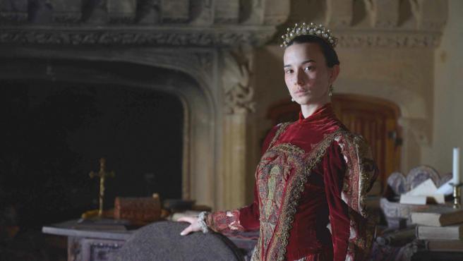 María de Castilla, la primera mujer de Estado y reina de la Corona de Aragón, recreada en la docuserie 'Pioneras', de Movistar+.
