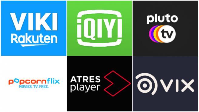 Algunas de las plataformas de VOD gratuitas