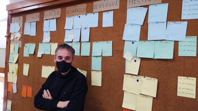 José Subero, responsable de Servicios Digitales de Aragón.