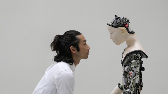 'Co(AI)xistence', obra de Justine Emard.