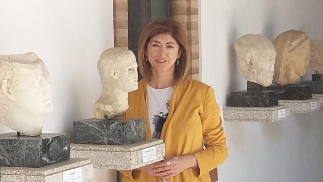 Mª Dolores Baena, directora del Museo de Arqueología de Córdoba