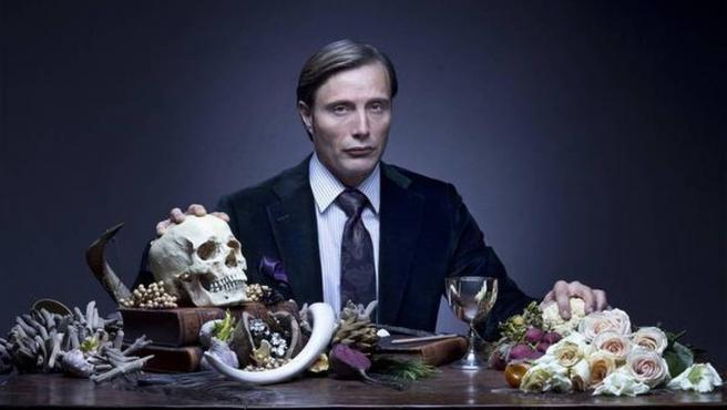 Mads Mikkelsen en la serie 'Hannibal'.