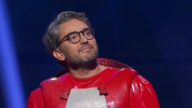 Máximo Huerta es Gamba en 'Mask Singer'.