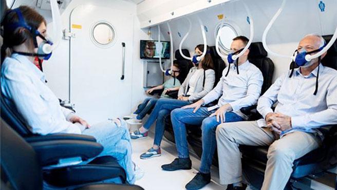 Los participantes se sometieron a 60 sesiones diarias de una terapia de oxígeno hiperbárico.