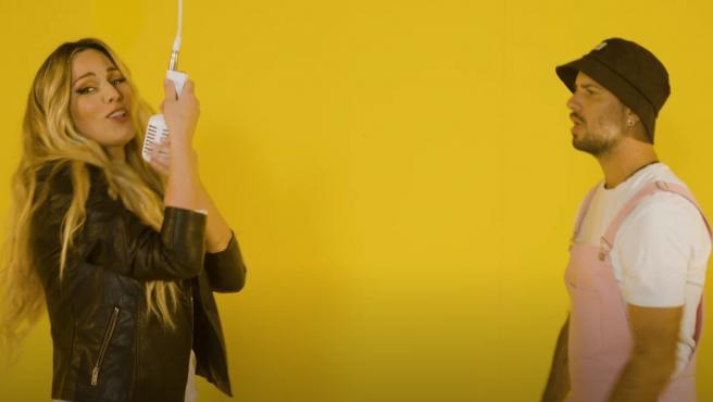 Edurne y Efecto Pasillo en 'Como tú'.