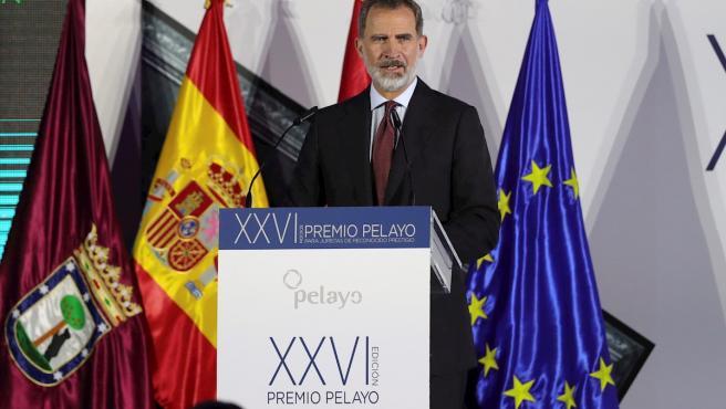 El rey Felipe VI, en un acto el pasado 19 de noviembre en Madrid.