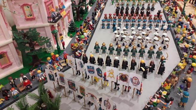 Una exposición en San Vicente del Raspeig congrega 5.000 clicks de Playmobil ambientados en diferentes épocas