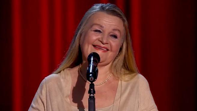 La cantante de ópera Naida Abanovich en 'La Voz Senior'.