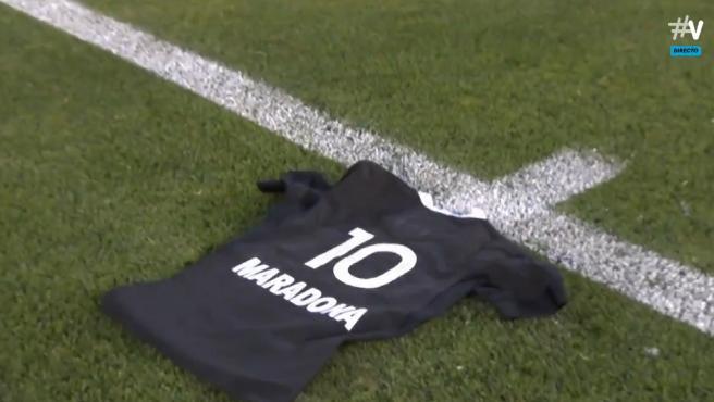 Los All Blacks homenajean a Maradona antes de enfrentarse a Argentina en el  Tri Nations de rugby