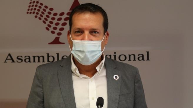 El diputado del Grupo Parlamentario Socialista en la Asamblea, Manuel Sevilla