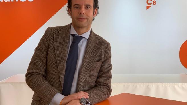 El portavoz de Ciudadanos Asturias, Ignacio Cuesta.