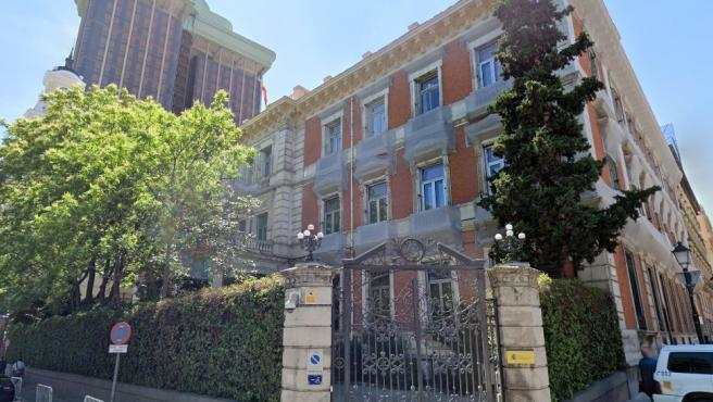 Imagen de archivo de la fachada del Ministerio de Política Territorial y Función Pública.