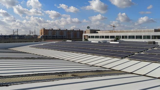 Placas solares de Metro de Sevilla