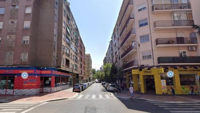 Imagen de archivo de la calle Doctor Iranzo de Zaragoza.