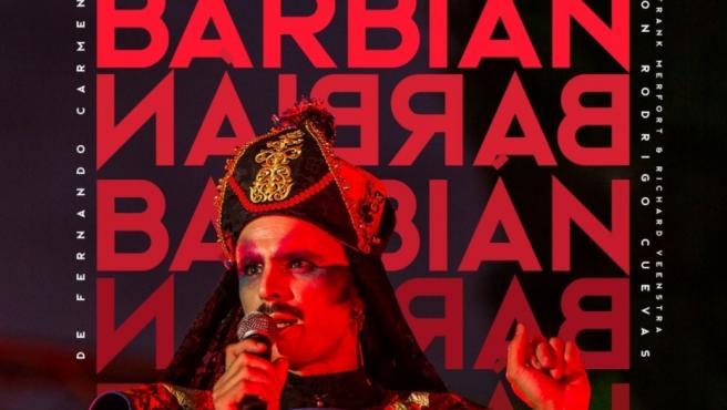 Cartel de 'Barbian', de Rodrigo Cuevas