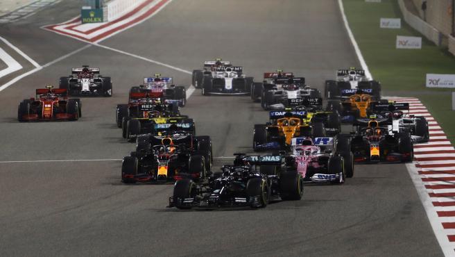 Salida del GP de Bahréin