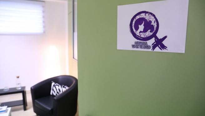 El centro de crisis 24h para la atención a víctima de violencia sexual del Ayuntamiento de Madrid.