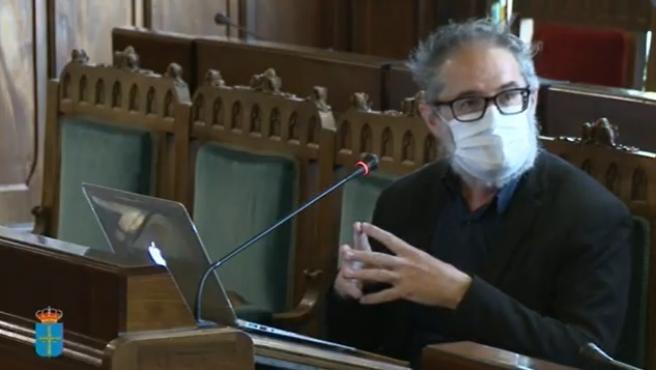 El director general de Salud Pública del Principado de Asturias, Rafael Cofiño