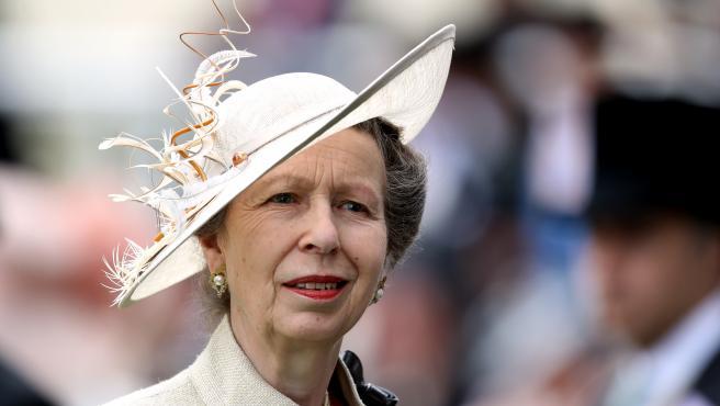 La princesa Ana del Reino Unido.
