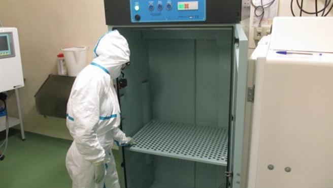 Las pruebas del armario en el box experimental del IRTA.