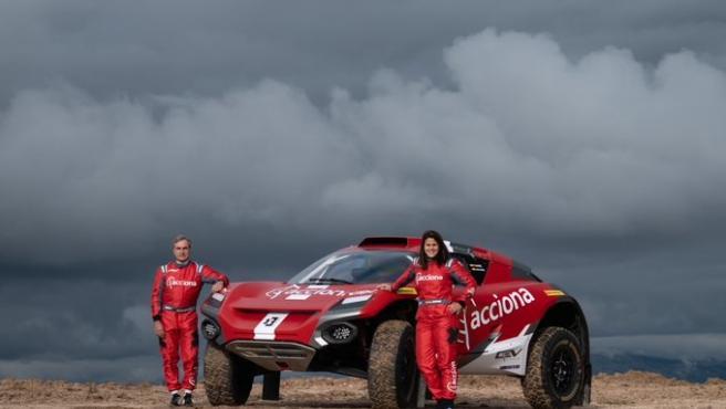 Los pilotos Carlos Sainz y Laia Sanz competirán juntos en el Extreme E, el campeonato de coches eléctricos, en 2021