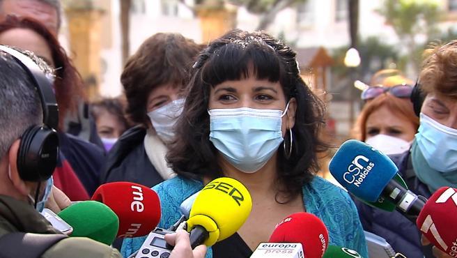 Teresa Rodríguez presenta la intención de refundar Adelante Andalucía