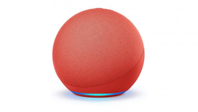 Nuevo Echo (4.ª generación) en rojo, producto asociado a (RED).