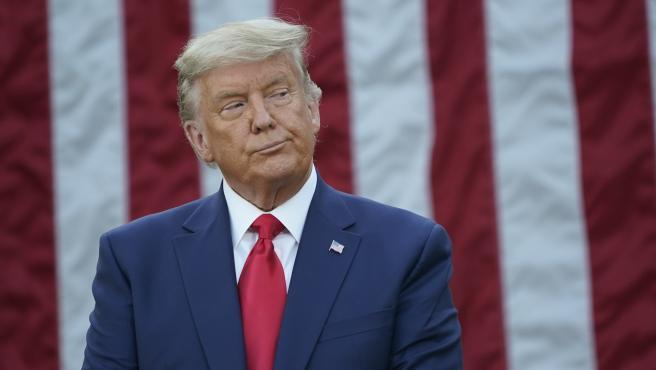 """Donald Trump no descarta volver a presentarse a las elecciones en 2024:  """"Nos vemos en cuatro años"""""""
