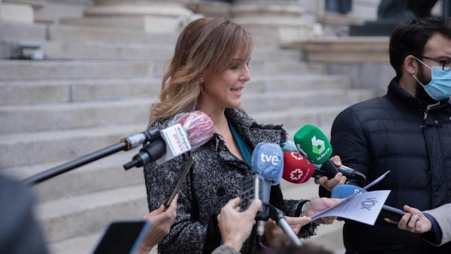 La diputada de Vox por Málaga Patricia Rueda
