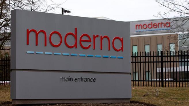 Sede de la empresa biotecnológica Moderna en Norwood, Massachusetts (EE UU).