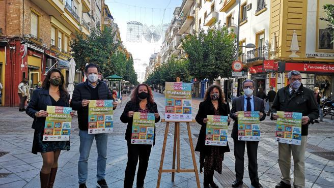 Presentación de la campaña para comprar en Los Remedios