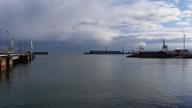 Puerto de El Musel, en Gijón