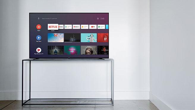 Las Smart TV de Nokia son compatibles con los principales servicios de streaming.